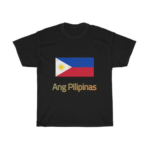 Ang Pilipinas (Flag) | Unisex Heavy Cotton Tee