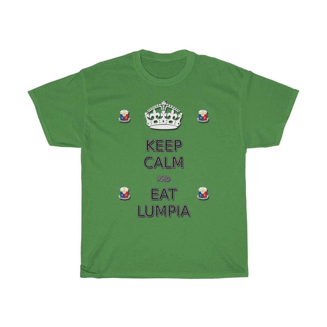 Keep Calm and Eat Lumpia | Unisex Heavy Cotton Tee
