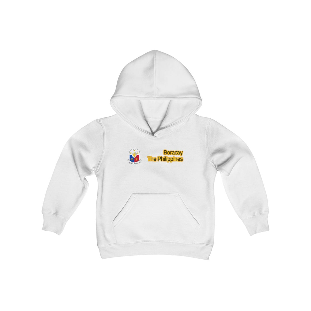 Boracay Bi-Line Alpha | Youth Heavy Blend Hooded Sweatshirt