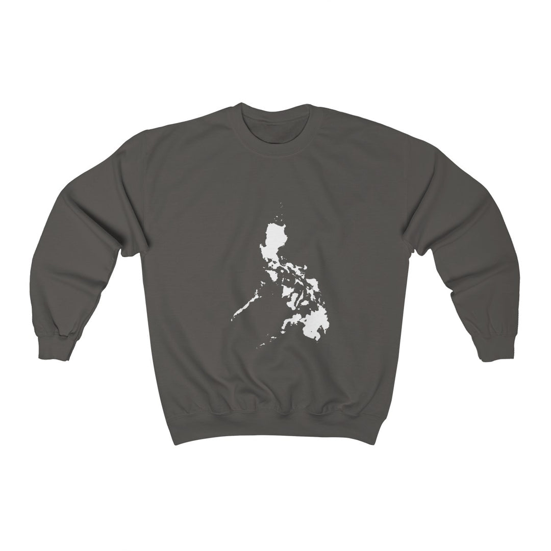 The Philippines Map | Unisex Heavy Blend Crewneck Sweatshirt