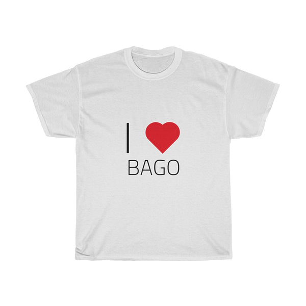 I ❤️ BAGO | Unisex Heavy Cotton Tee