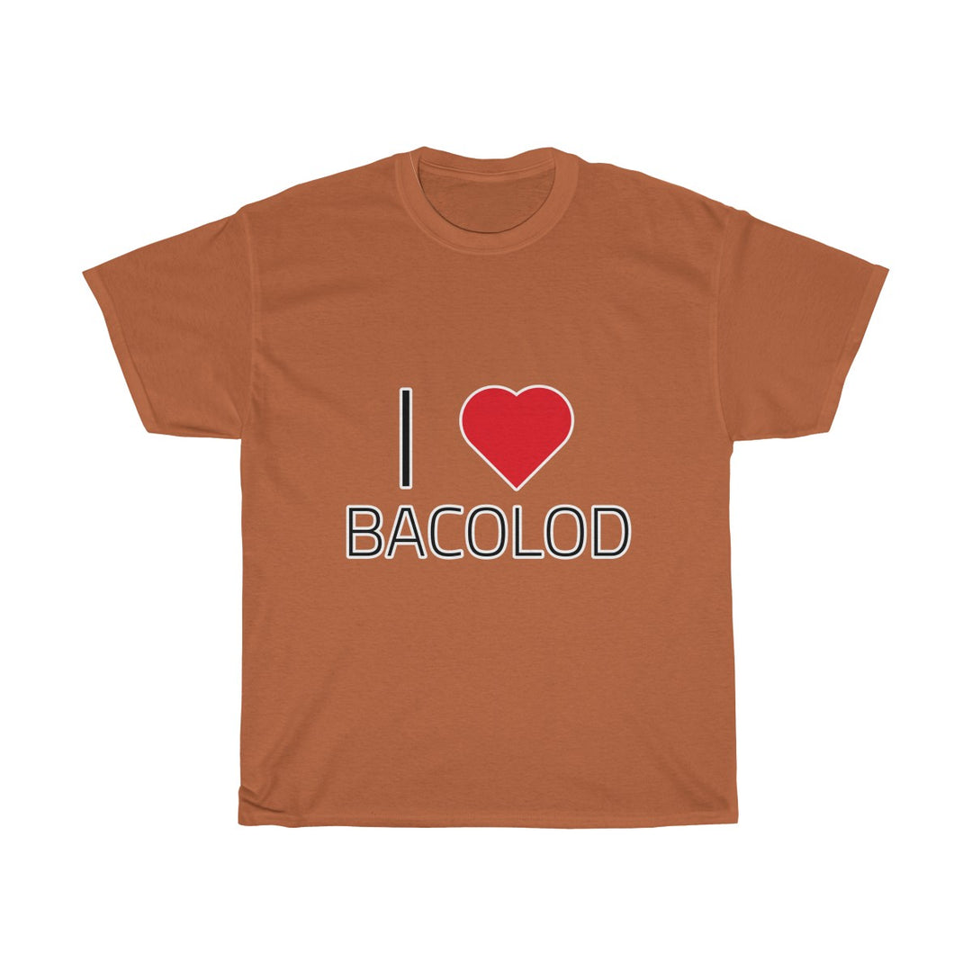 I ❤️ BACOLOD | Unisex Heavy Cotton Tee