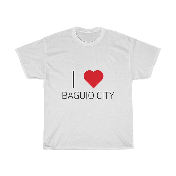 I ❤️ BAGUIO CITY | Unisex Heavy Cotton Tee
