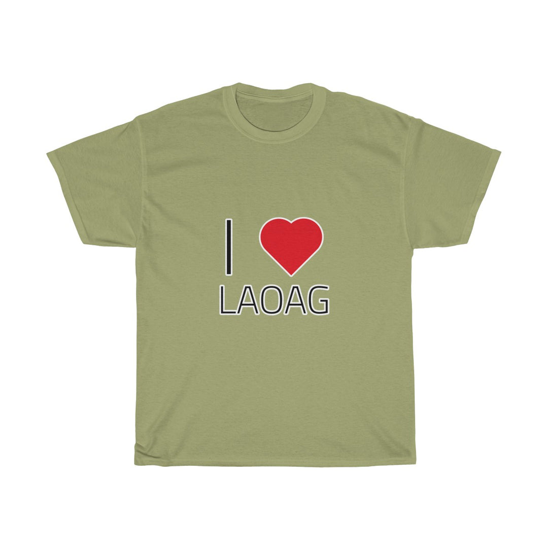 I ❤️ LAOAG | Unisex Heavy Cotton Tee