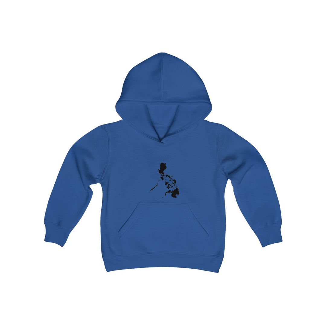 The Philippines Map | Youth Heavy Blend Hooded Sweatshirt