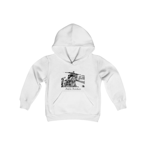 Andrés Bonifacio  | Youth Heavy Blend Hooded Sweatshirt