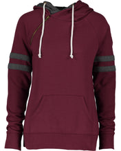 Load image into Gallery viewer, varsity double hood pullover
