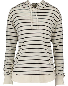lightweight pullover hood - thick stripe
