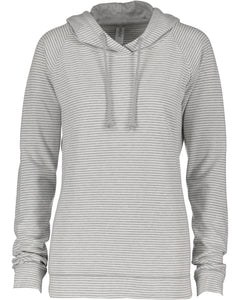 lightweight pullover hood - thin stripe