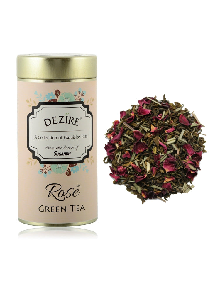 Dezire Rose Green Tea 50g