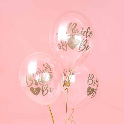 "Ballon ""Bride to Be"" 6 pak"
