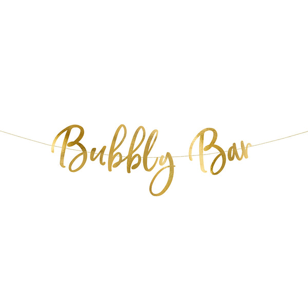 "Banner ""Bubbly Bar"""