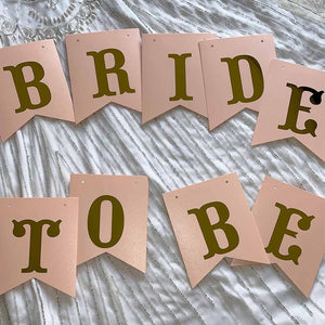 "Guirlande ""Bride to Be"""