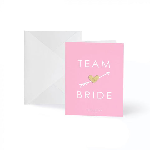 "Kort ""Team Bride"""