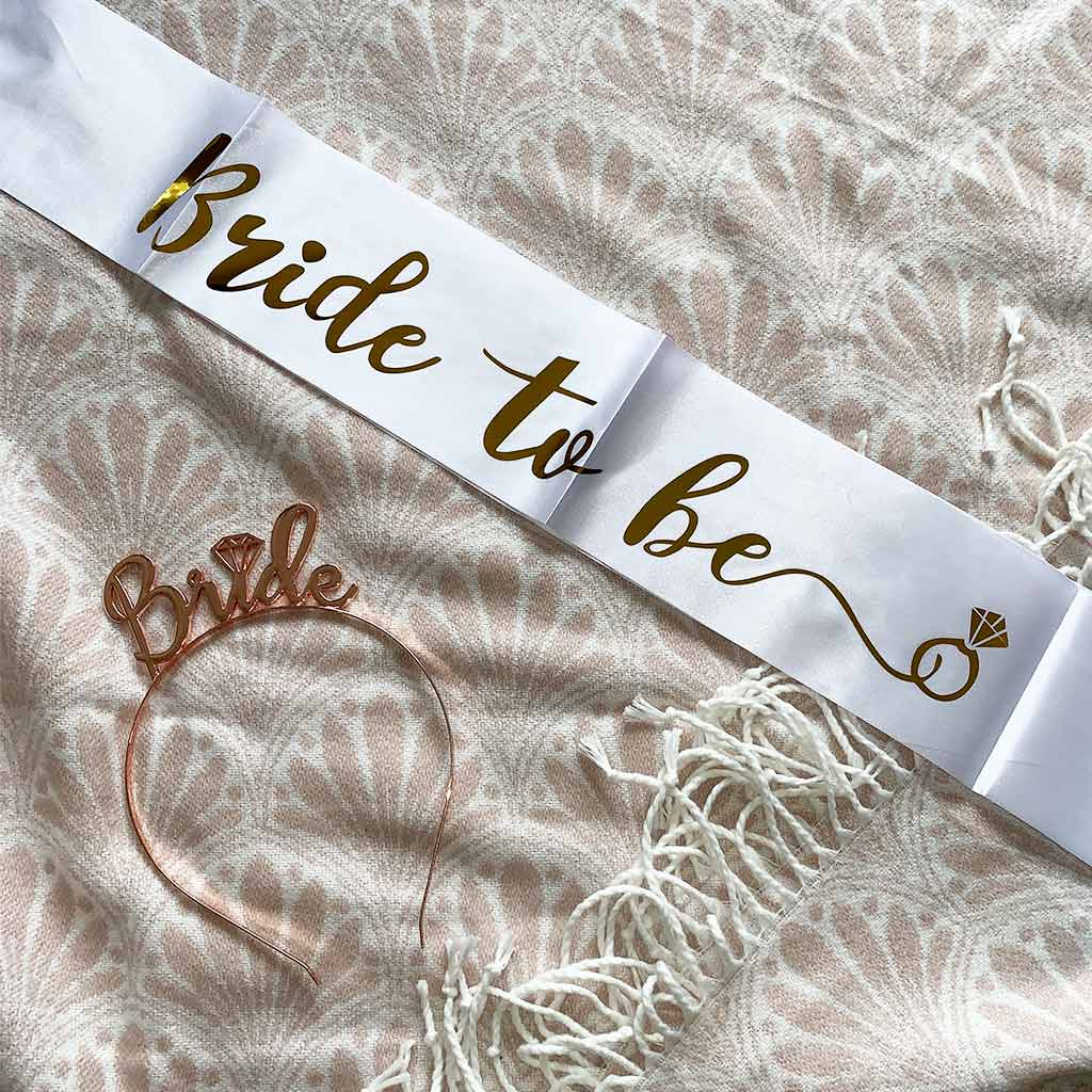 "Sash ""Bride to Be"""