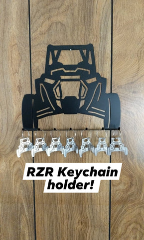 Polaris RZR Keychain Holder
