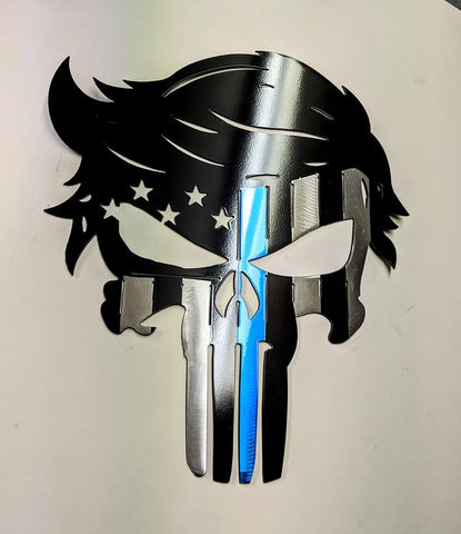 Blue line Trump Punisher