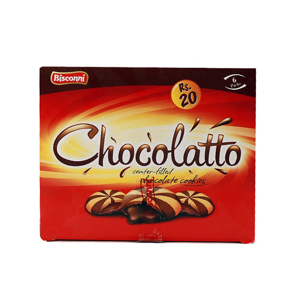 Bisconni Chocolatto Half Roll Box 6Pcs