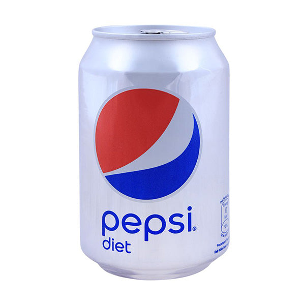 Pepsi Diet Tin Can 300ml Imported