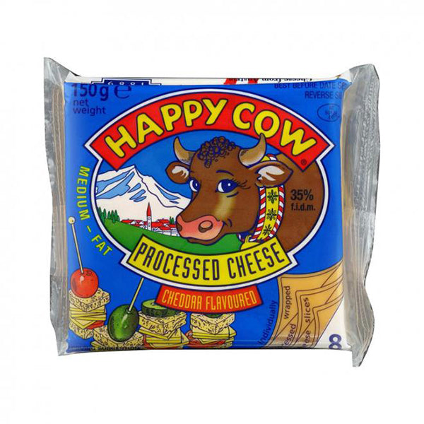 Happy Cow Cheese Triangle Slice
