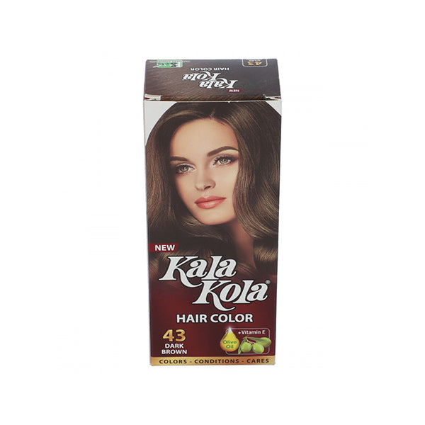 Kalakola Hair Color 43 Dark Brown Large