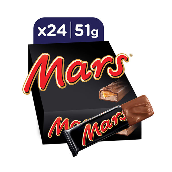 Mars Chocolate 51g x24 Box