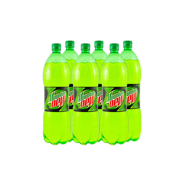 Mountain Dew Pet Bottle Carton 1.5 Ltr x 6Pcs