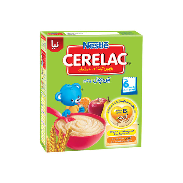 Nestle Cerelac (3 Fruits) Baby Food 175gm