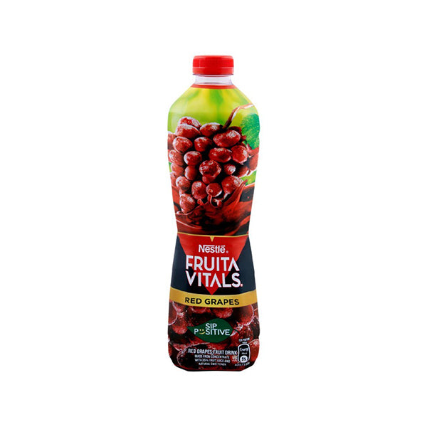 Nestle Fruita Vitals Red Grapes Juice Bottle 1Ltr
