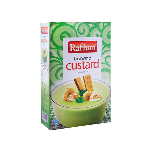 Rafhan Banana Custard 285gm
