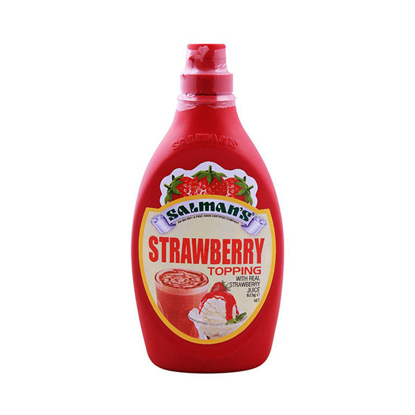 Salman's Strawberry Topping