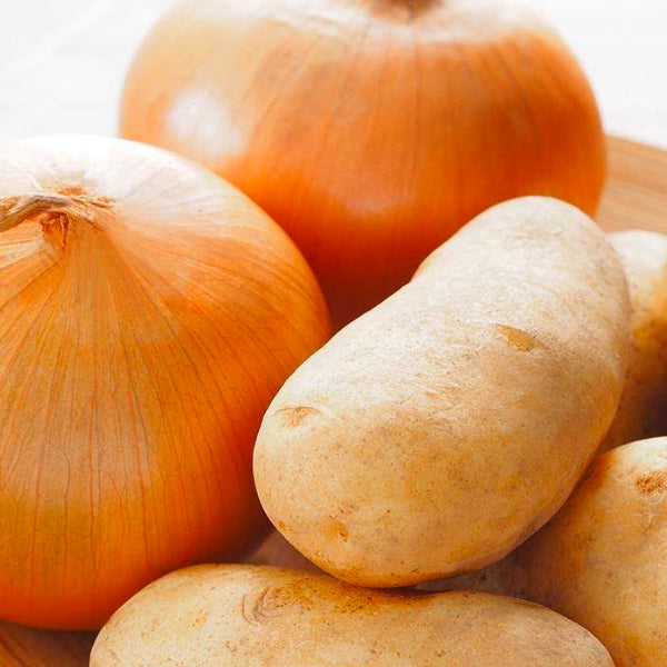 Onion + Potato(Salty) (5KG each) پیاز-آلو