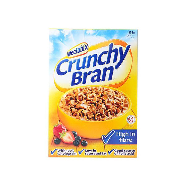 Weetabix Crunchy Bran Wholegrain 375 gm