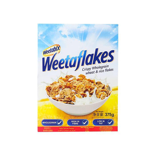 Weetabix Weetaflakes Wheat And Rice 375 gm