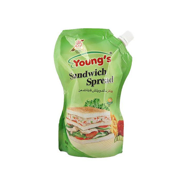 Youngs Sandwich Spread Pouch 500ml