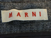 Marni grey wool blend A- line skirt size UK10/US6