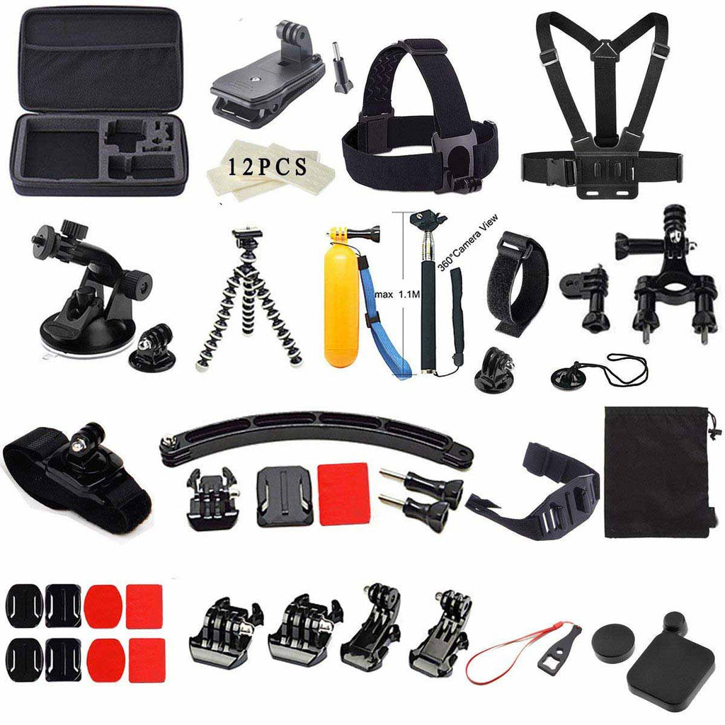 55-in-1 Outdoor Sports Accessories Kit for GoPro Hero  sc 1 st  Gift Prod : gopro gift bag - princetonregatta.org