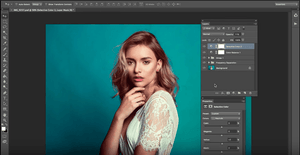 Portrait Skin Retouch and Color Editing