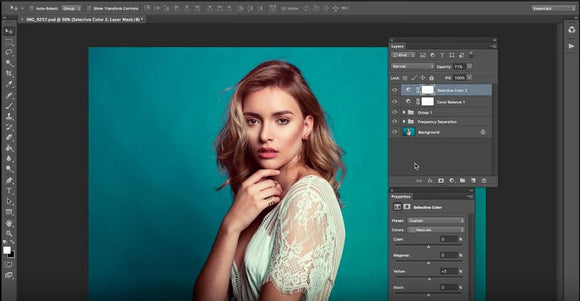 Portrait Skin Retouch and Color Editing - Bound for Style