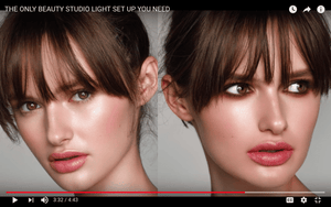 The Only Beauty Studio Light Set up You Need