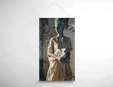 Load image into Gallery viewer, Salon Banner - Woman in Bronze Statue Look with Patina Body Paint