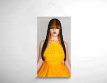 Load image into Gallery viewer, Salon Banner - Woman with Long Straight Hair with Orange Highlights