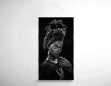 Load image into Gallery viewer, Salon Banner - Woman with Beehive Hairstyle and Jewelry Headdress