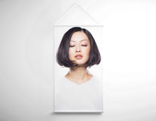 Load image into Gallery viewer, Salon Banner - Woman in Bob Hairstyle