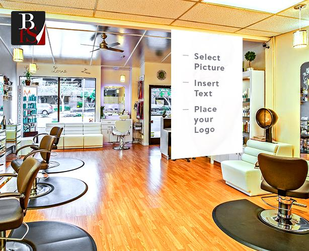 Customize Your Salon Banners