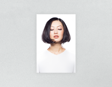 Plastic Salon Posters & Salon Posters:  Woman in Bob Hairstyle - Bound for Style