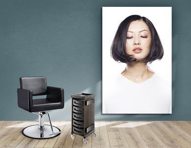 Aluminum Frames and Cloth - Woman in Bob Hairstyle - Bound for Style