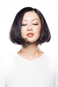 Downloadable Beauty Salon Photo -   Woman in Bob Hairstyle - Bound for Style