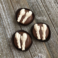 12 HAND & ARM Chocolate Covered Oreo Cookie Candy Body Parts Party Favors