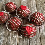 6 Pack HOT CHOCOLATE COCOA BOMBS Marshmallow HEART Holiday Gift
